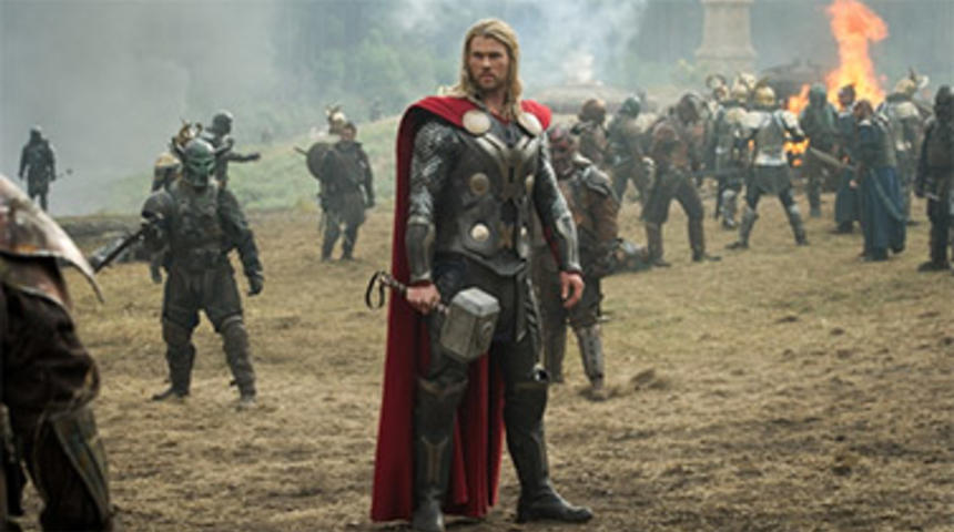 Box-office nord-américain : Thor: The Dark World récolte 86 millions $