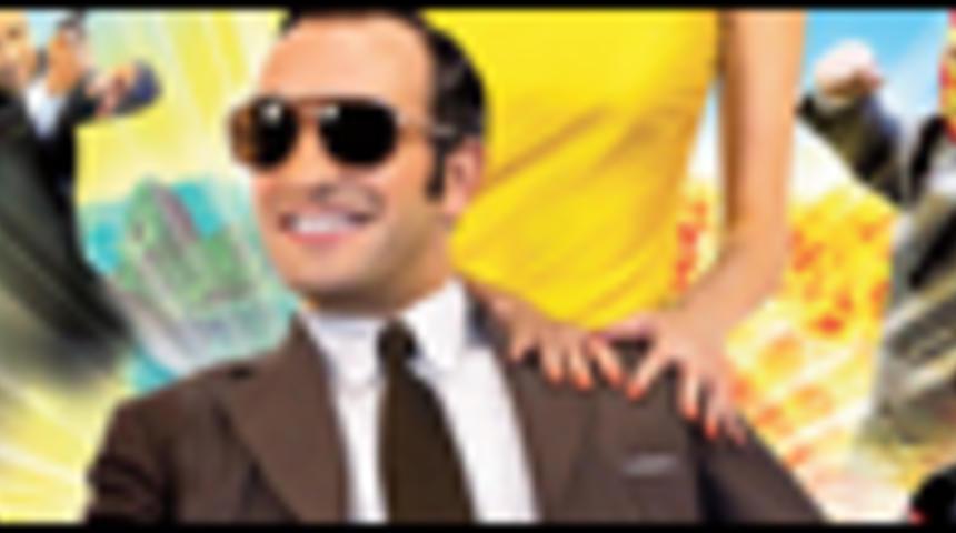 Affiche québécoise de la comédie OSS 117 : Rio ne répond plus