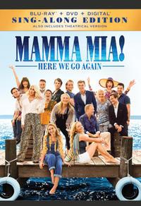 Combo Blu-Ray + DVD + copie numérique du film Mamma Mia! C'est reparti