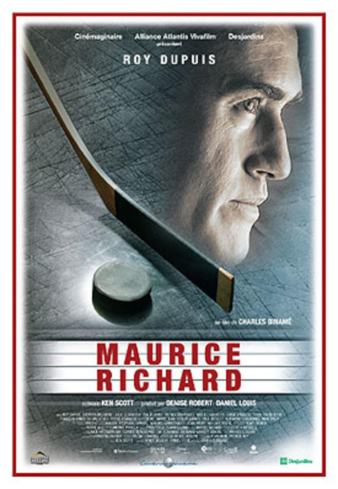 Image result for maurice richard film