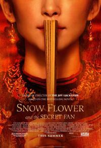 Fleur de neige et l'éventail secret
