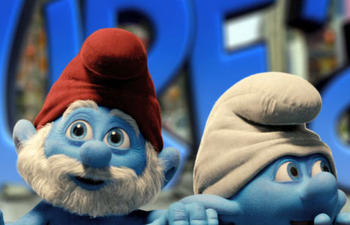 Pré-bande-annonce du film d'animation The Smurfs