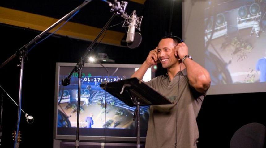 Dwayne Johnson prête sa voix pour Moana