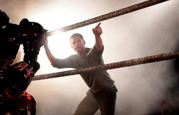Première image du film Real Steel