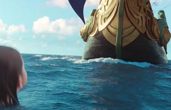 Les chroniques de Narnia : L'odyssée du passeur d'aurore