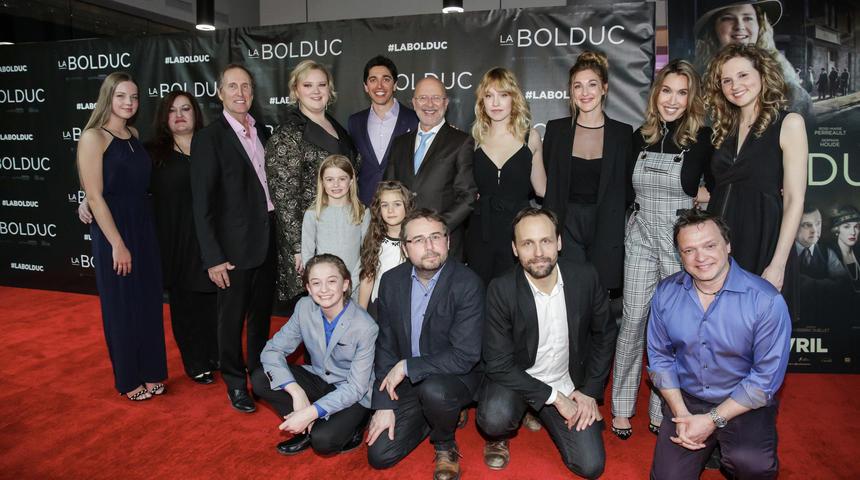 Grande première du film La Bolduc à Montréal