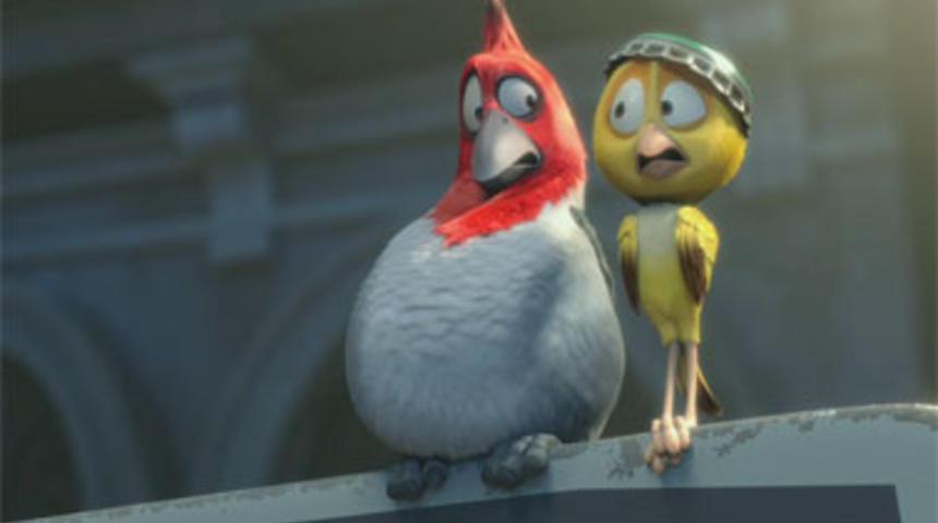 Bande-annonce du film d'animation Rio