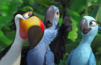 Pré-bande-annonce du film d'animation Rio