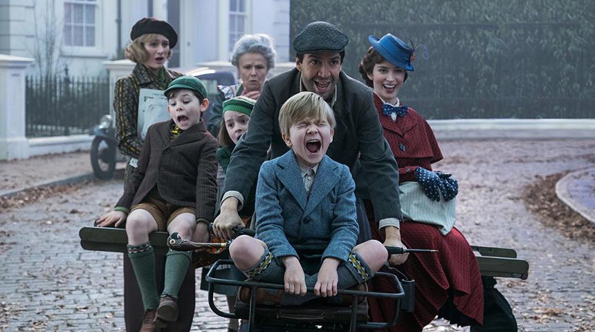 Première bande-annonce en français du film Le retour de Mary Poppins