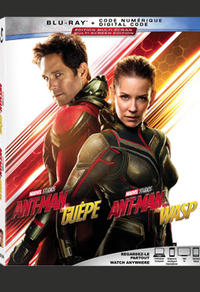 Combo Blu-Ray + numérique du film Ant-Man et la guêpe