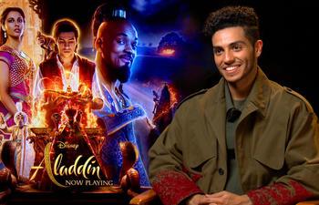 L'interprète d'Aladdin nous parle des dessous de la production de Disney