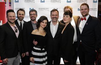 Photos : Première médiatique montréalaise du film Ça sent la coupe