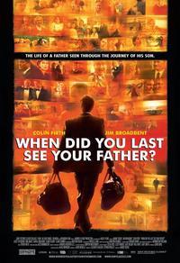 Quand as-tu vu ton père pour la dernière fois ?