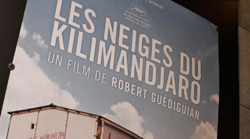 Première du film Les neiges du Kilimandjaro