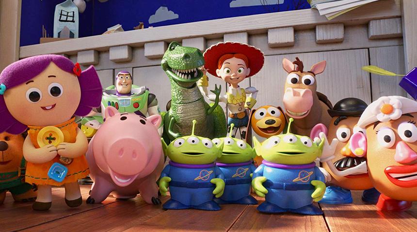 Sorties à la maison : Toy Story 4