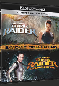 Gagnez un combo 4K Ultra-HD des films Lara Croft: Tomb Raider
