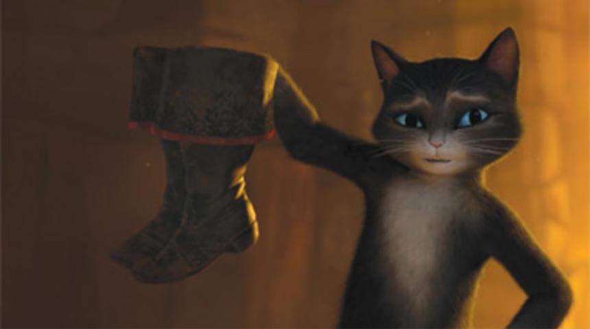Box-office québécois : Le chat potté conserve le premier rang