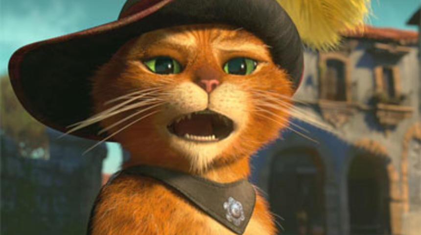 Pré-bande-annonce du film d'animation Puss in Boots