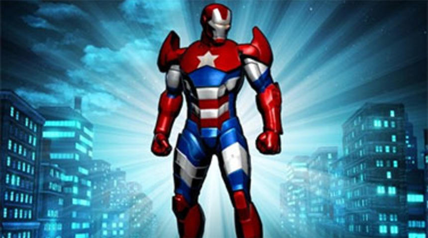 L'armure d'Iron Patriot dans Iron Man 3