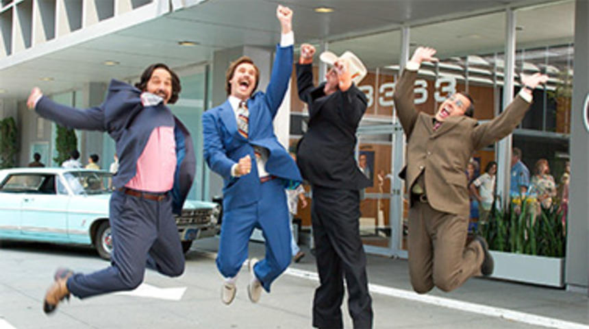 Bande-annonce de Anchorman 2: The Legend continues