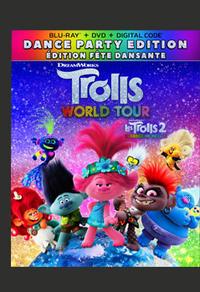 Combo Blu-Ray + DVD + copie numérique du film Les Trolls 2 : tournée mondiale