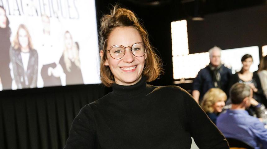 Le rire : Léane Labrèche-Dor dans un premier rôle pour la première fois au cinéma