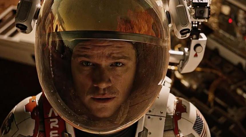 Box-office québécois : Seul sur Mars domine encore