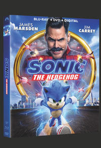 Combo Blu-Ray + DVD + copie numérique du film Sonic le hérisson
