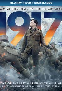 Combo Blu-Ray + DVD + copie numérique du film 1917