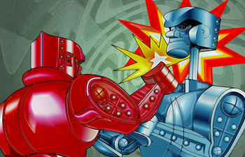 Vin Diesel dans un film sur le jeu Rock 'Em Sock 'Em Robots