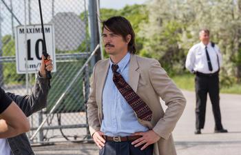 L'acteur américain Josh Hartnett de passage à Montréal